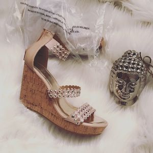 Nine West Shoes - Blush Nine West wedge heels
