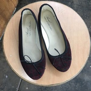 Anniel Shoes - leather ballet flats