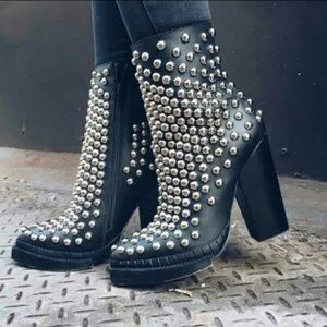 Jeffrey Campbell Shoes - Jeffrey Campbell Studded Boots