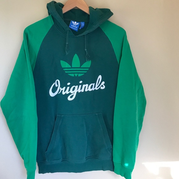 Tops Adidas Color Hoodie Block Originals Vintage Poshmark FqdqOp