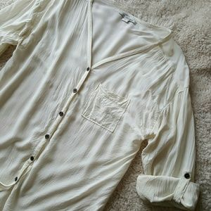 Off white blouse by L.A. Hearts
