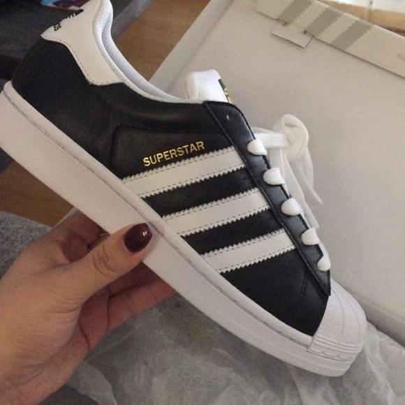 le adidas superstar custom poshmark