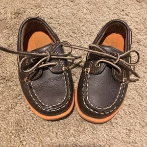 Nordstrom Baby Other - Brown toddler boy boat shoes