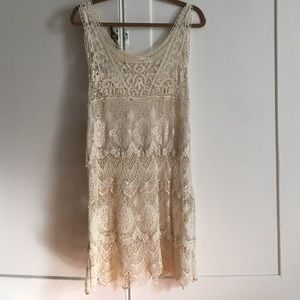Gorgeous lace dress from Tobi.