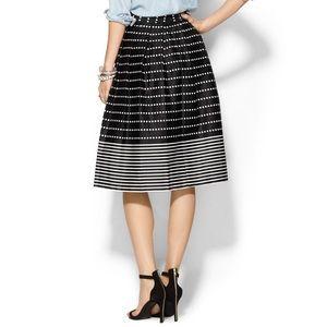 joa Dresses & Skirts - joa • dot line skirt