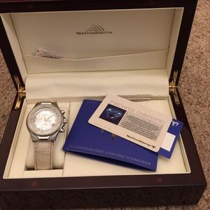 Technomarine Accessories - Techno Marine diamond watch