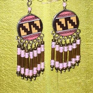 New Aztec southwest BoHo dangle earrings