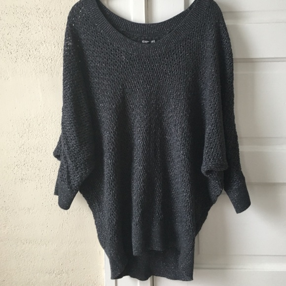 86% off Express Sweaters - 💥FLASH SALE! Express Dolman Sleeve ...