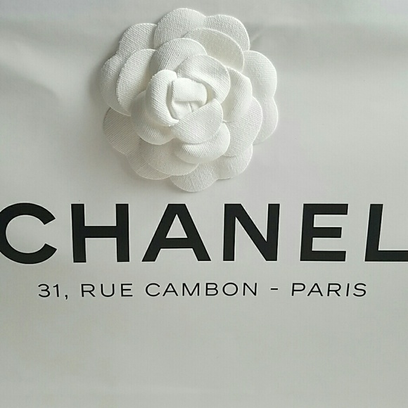 chanel 31 rue cambon paris. chanel other - authentic 31, rue cambon-paris shopping bag chanel 31 rue cambon paris u
