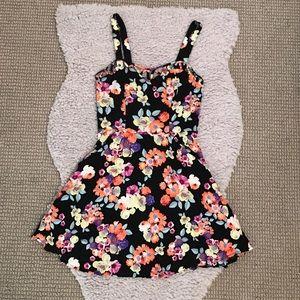 Material Girl - Floral Cutout Summer Dress 