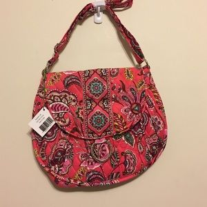 NWT Vera Bradley Saddle Up Bag