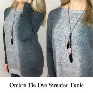 ✨SALE Fabulous Slouchy Ombré Sweater Tunic SM