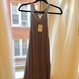 Gorgeous Carmen Marc Valvo Crochet Tank Dress