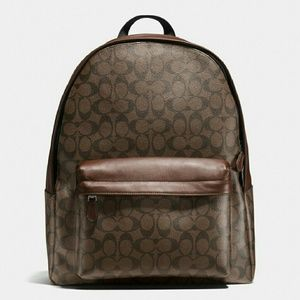 Coach Other - Coach backpack brown 100% authentic