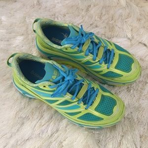 Hoka One One Shoes - Hoka One One Mafate Speed Neon Running Sneakers 7