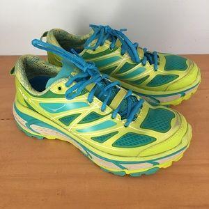 Hoka One One Shoes - Hoka One One Mafate Speed Neon Running Sneakers 7