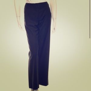 CHANEL Pants - Chanel High-Rise Wide-Leg Wool Pants FR 38