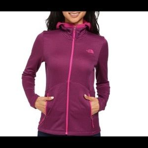 The north face rosette hoodie in Pink/ purple XS.