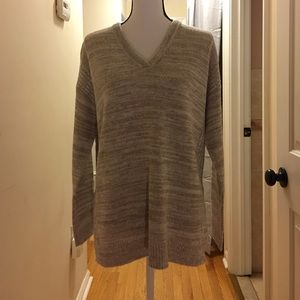 Sweet Romeo Sweaters - Soft cream colored marbled sweater.