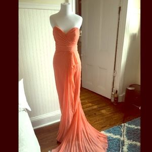 Marchesa notte gown, size 4. Pink /ambrosia