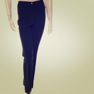 Celine Pants - Celine Wool Straight-Leg Pants FR 36