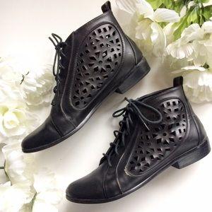 Deena & Ozzy Shoes - Deena & Ozzy Cutout Boots