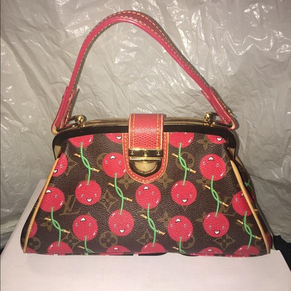 9b5571bc98a6 Louis Vuitton Handbags - Limited Edition Louis Vuitton Cerises Cherry Bag