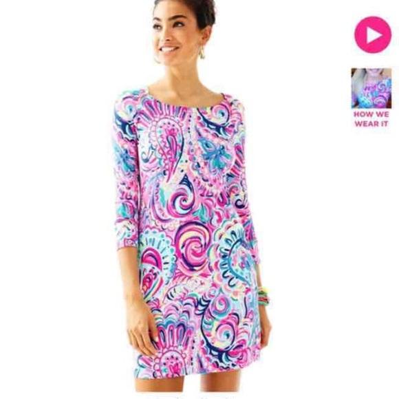 fa13b5eed94841 Lilly Pulitzer Dresses | Nwt Mini Edna Dress Girls Xl | Poshmark