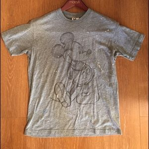 Junk Food Clothing Other - Mickey Mouse Painted Tee