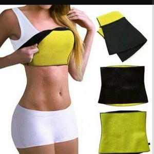 DC Other - 2Neoprene Sweat Hot Shapers Waist Trainer Hot Belt