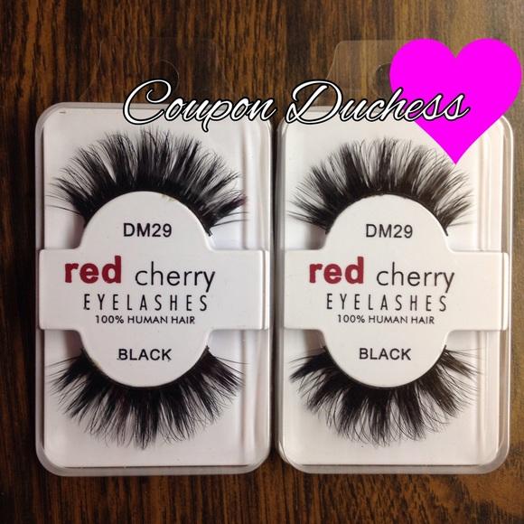 Red Cherry Makeup 2pk Lashes Dm29 Poshmark