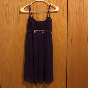 Ruby Rox Dresses & Skirts - Purple Rhinestone Formal Homecoming Dress