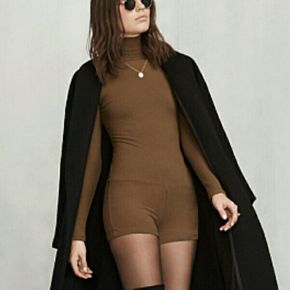 4dd56d67c5a BN Reformation Ervilla Bodysuit in Cocoa