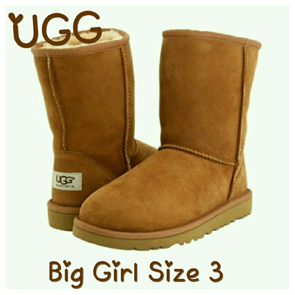 Like-new Big Girl's UGGS Size 3