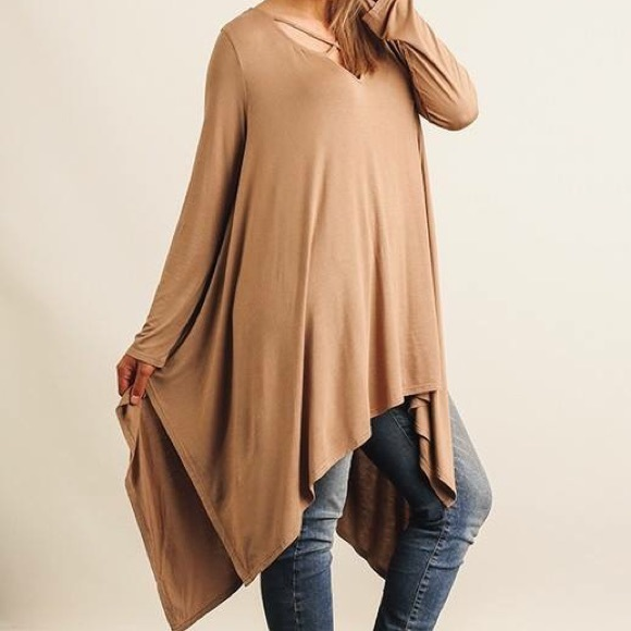 9a7ca58969e Tops | Criss Cross Flowy Tunic Top Womans And Plus Size | Poshmark