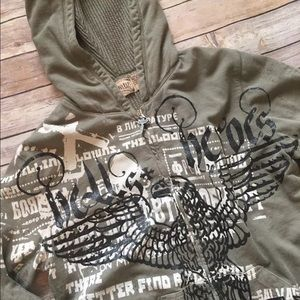 Salvage Other - Salvage Hoodie Jacket Heavy Hell's Hero's Eagle