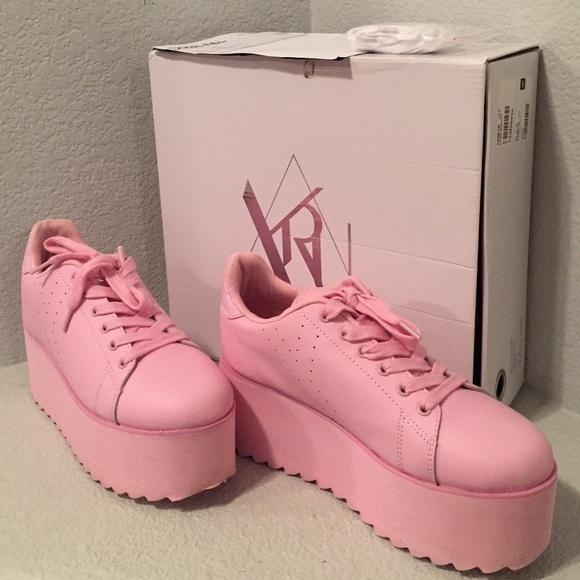 YRU Shoes | Yru Lala Platform Sneakers