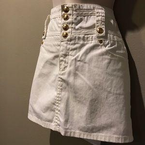BCBGMaxAzria Dresses & Skirts - BCBG MAXAZRIA WHITE MINI SKIRT, 13