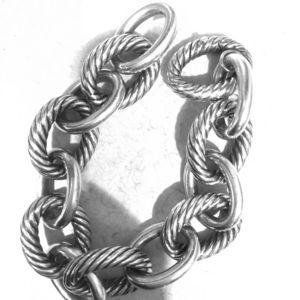 David Yurman Jewelry - David Yurman Extra Large Oval Link Bracelet