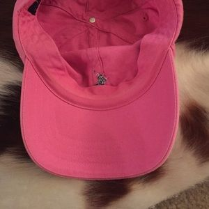 43a7af3a9e4 Polo by Ralph Lauren Accessories - Polo hat- Pink with Navy blue horse