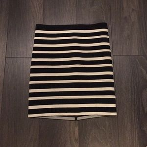 H&M Stripe Skirt