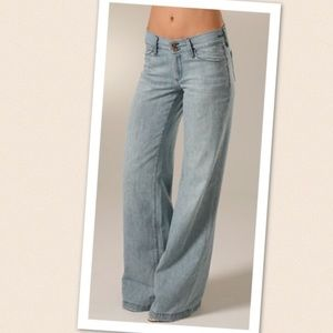 Goldsign Denim - Goldsign Orchid Wide Leg Trouser Jeans Light 29