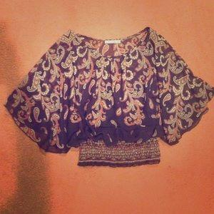 Papaya Tops - Paisley blouse