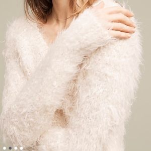 Anthropologie Sweaters - Anthropologie Snowfrost Boucle Pullover, By Moth