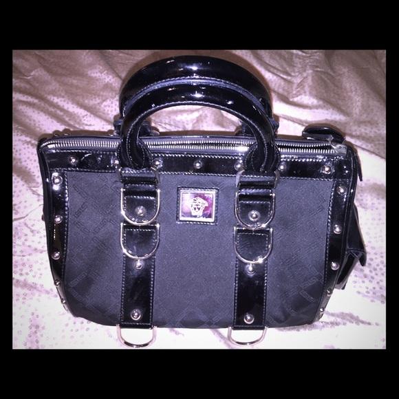 69cc000b97e Versace Bags   Gianni Couture Black Madonna Handbag   Poshmark
