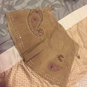 Maxima Dresses & Skirts - Suede Mini Skirt
