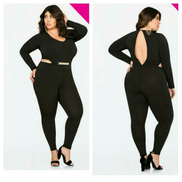 e21a3b9eae9 Ashley Stewart Pants | Plus Size Catsuit | Poshmark