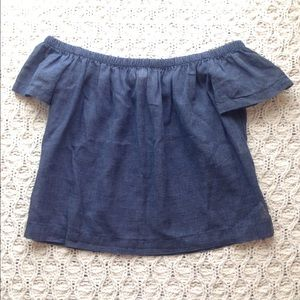 Anthropologie Tops - NWT Cloth and Stone off the shoulder crop top