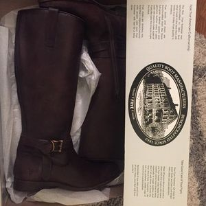 Frye Mellissa Knotted Tall Boots