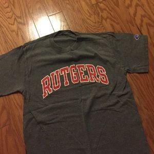 Champion Other - Champion Rutgers TShirt- Gray, size M.